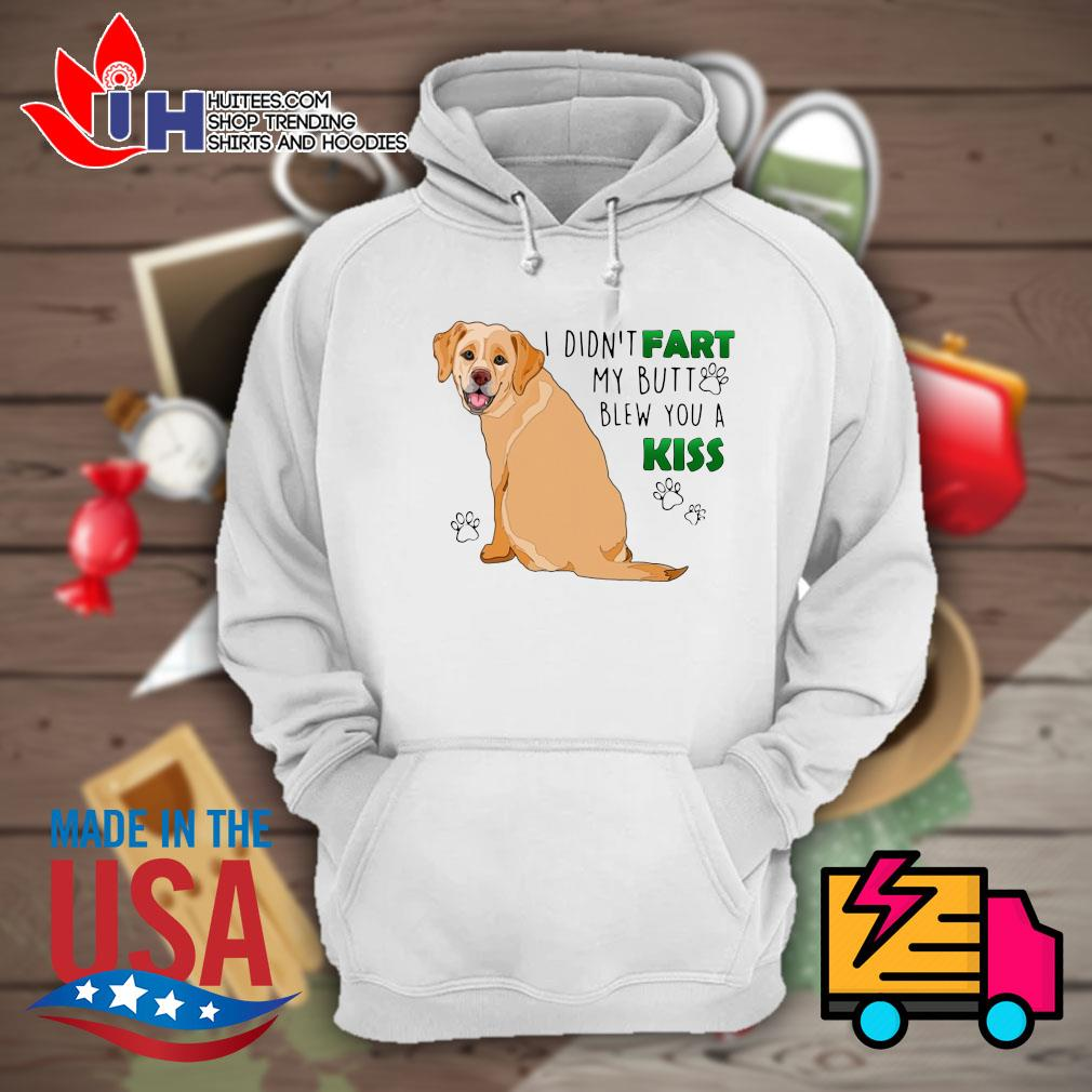 Golden Retriever I didn't fart my butt blew you a kiss s Hoodie