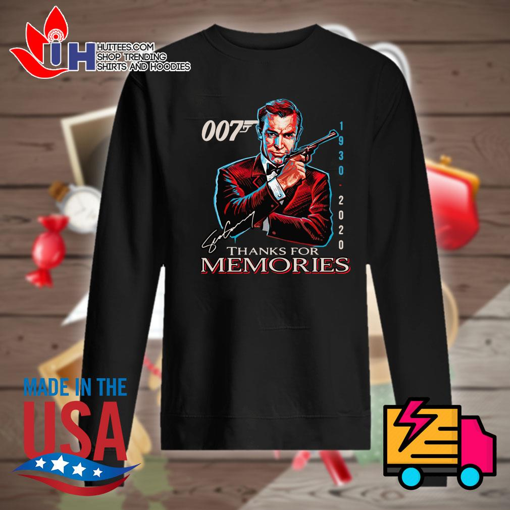 007 James Bond 1930 2020 signature thank for memories s Sweater