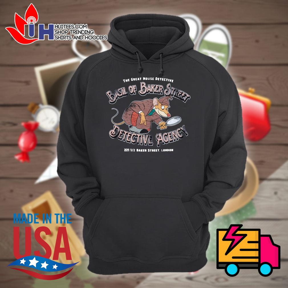 Disney the great mouse detective basil of baker street detective agency s Hoodie