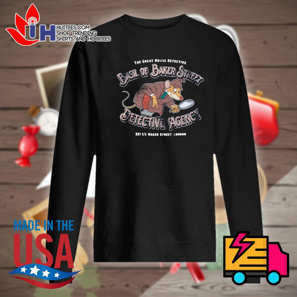 Disney the great mouse detective basil of baker street detective agency s Sweater
