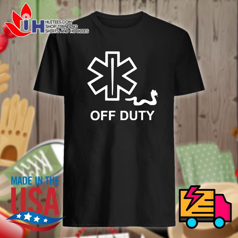 Emt Emergency Medical Snake Off Duty shirt