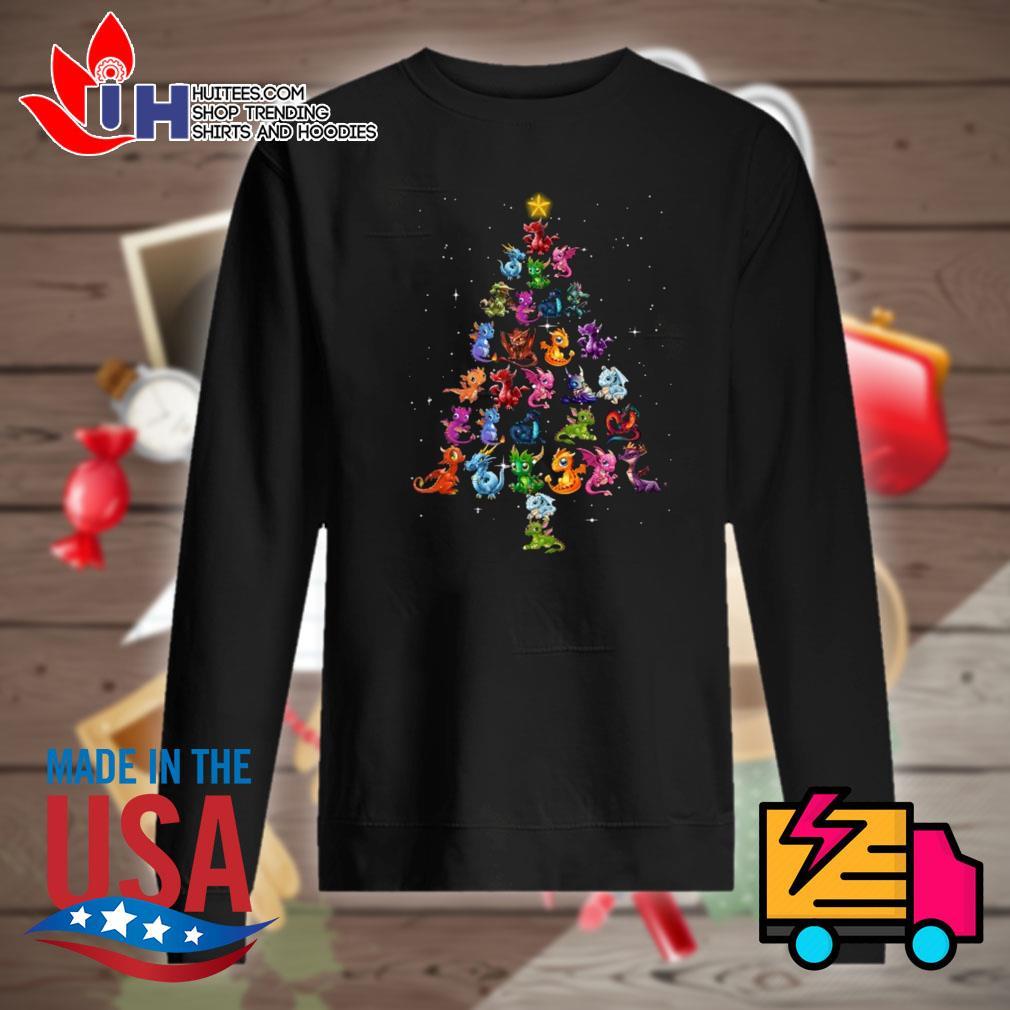 Pokemon Dragons Christmas tree s Sweater