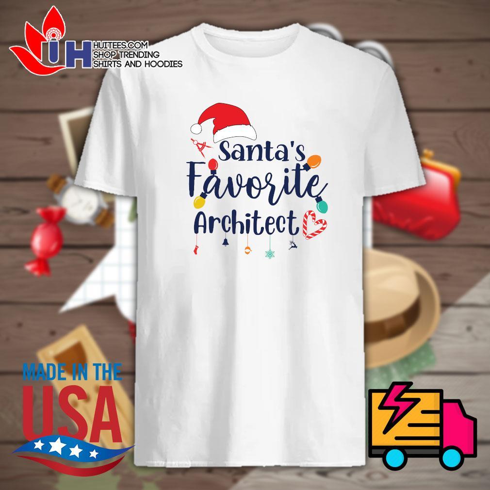 Santa's favorite architect 2020 shirt