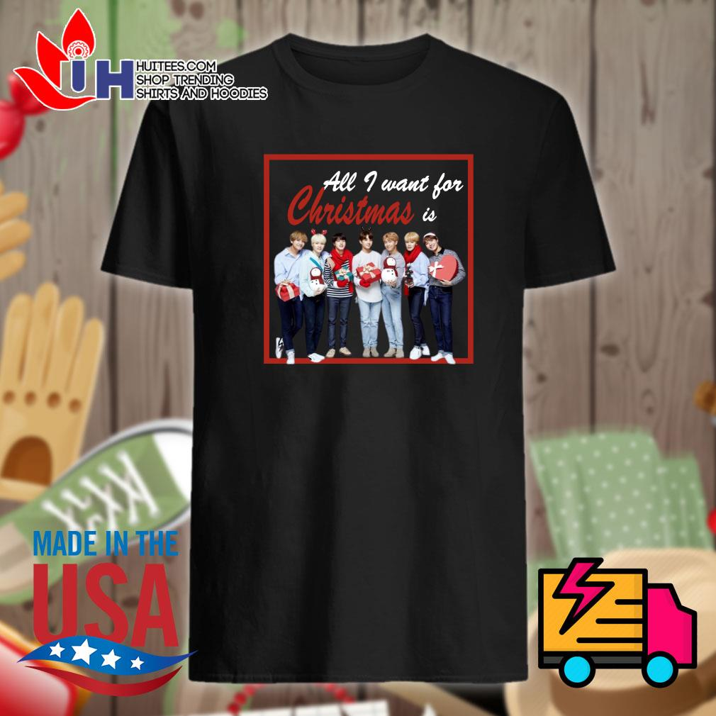 All I want for Christmas is BTS shirt
