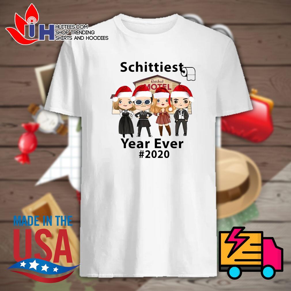 Schittest toilet paper Rosebud motel year ever 2020 shirt