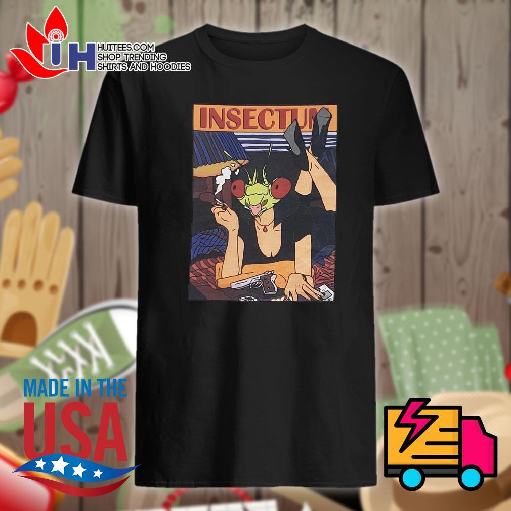 Insectum Girl gun shirt