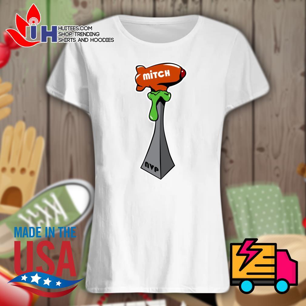 Super Bowl NVP Mitch cup s Ladies t-shirt