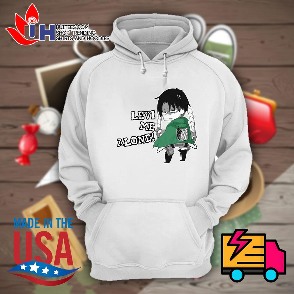 Captain Levi me alone s Hoodie