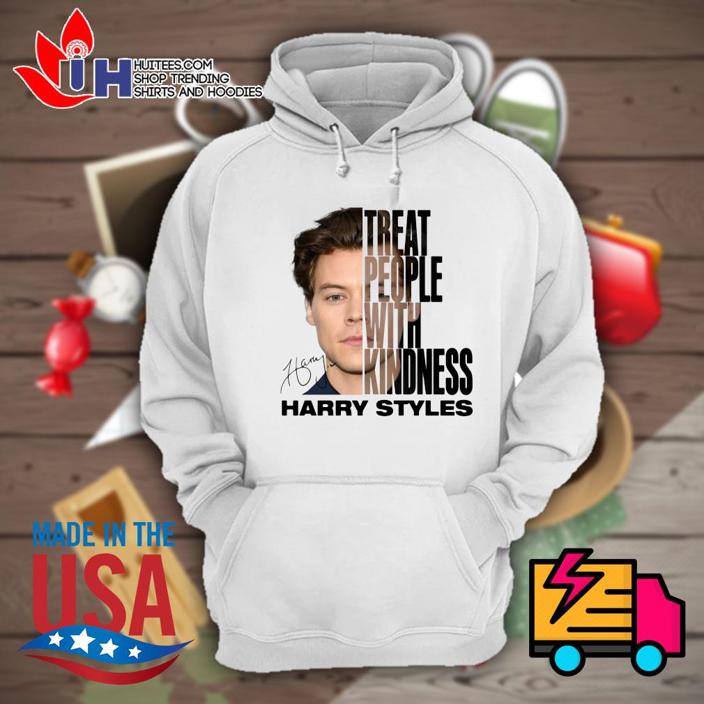Treat people with kindness Harry Styles signature s Hoodie