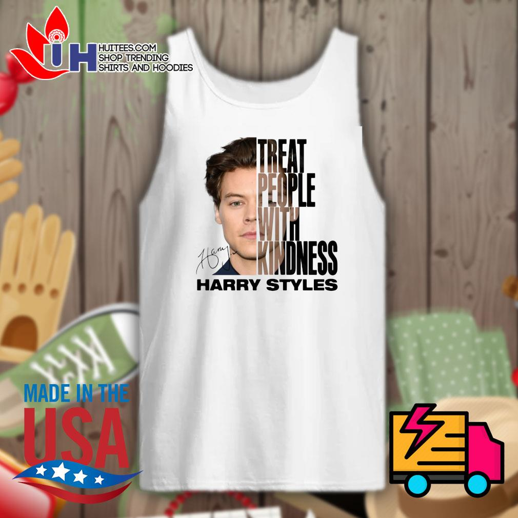 Treat people with kindness Harry Styles signature s Tank-top