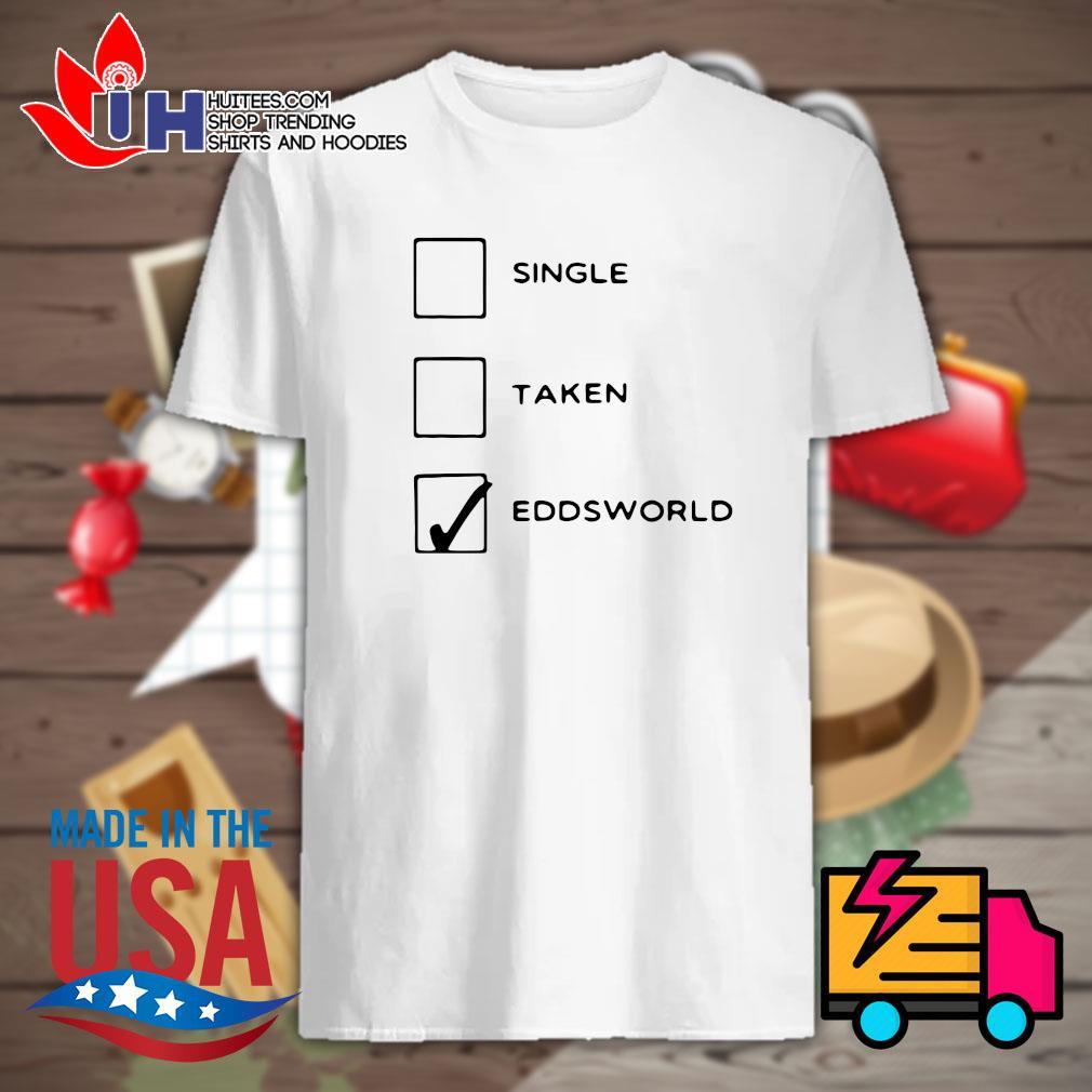 Single Taken Eddsworld shirt