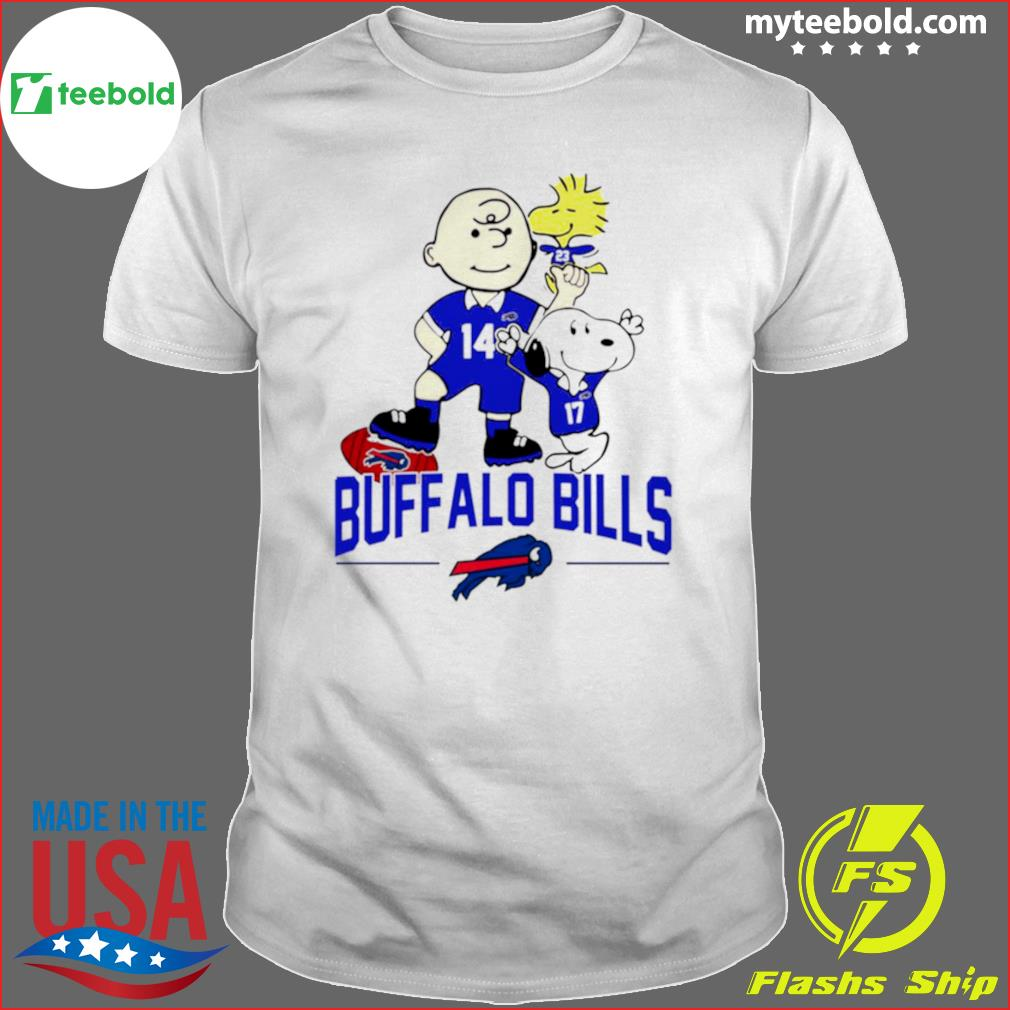 Snoopy and Charlie Brown Buffalo Bills 2021 shirt