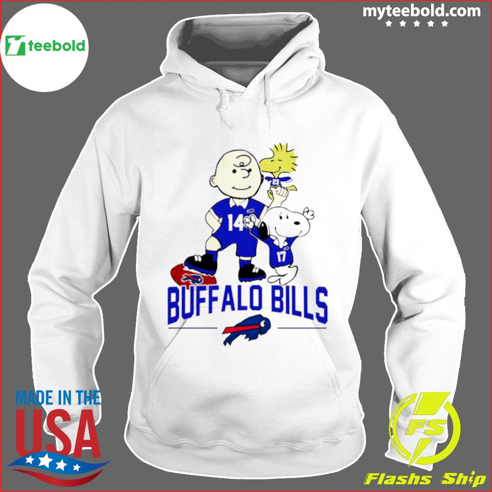 Snoopy and Charlie Brown Buffalo Bills 2021 s Hoodie