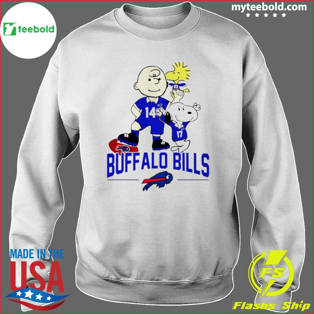 Snoopy and Charlie Brown Buffalo Bills 2021 s Sweater