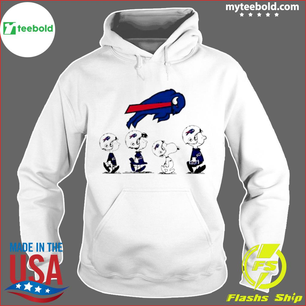 The Peanuts Snoopy And Friends Buffalo Bills 2021 s Hoodie