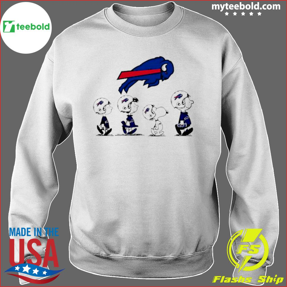 The Peanuts Snoopy And Friends Buffalo Bills 2021 s Sweater