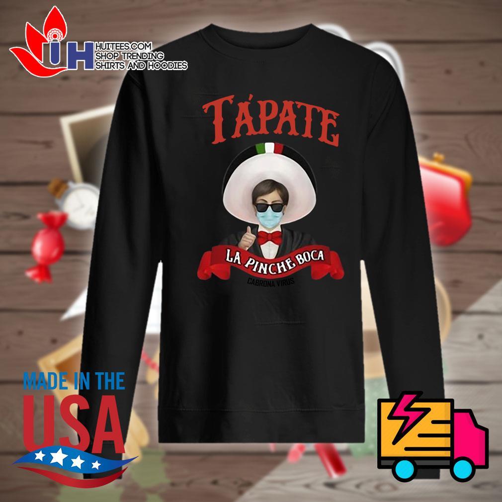 Tapate La Pinche Boca Cobrona Virus s Sweater