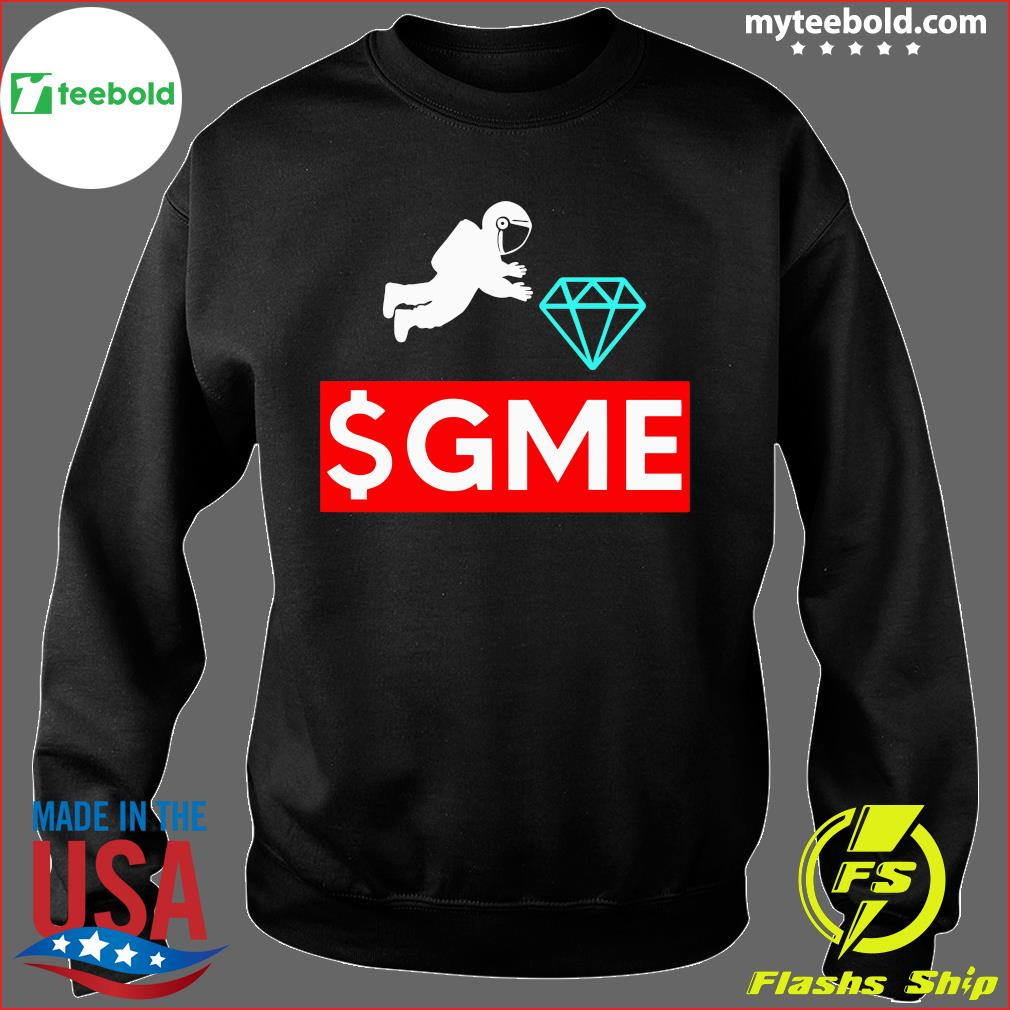 $gme Wallstreetbets Diamond Game To The Moon Shirt Sweater