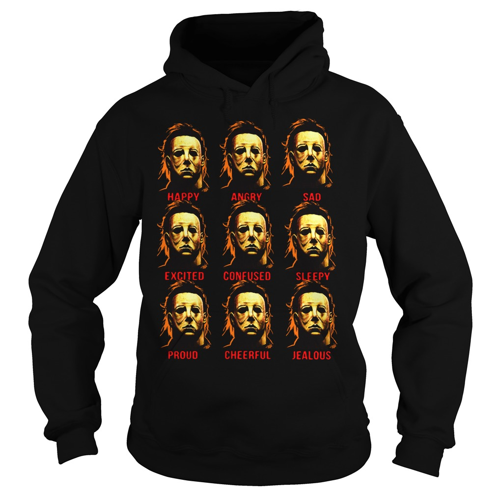 The many faces of Michael Myers Hoodie