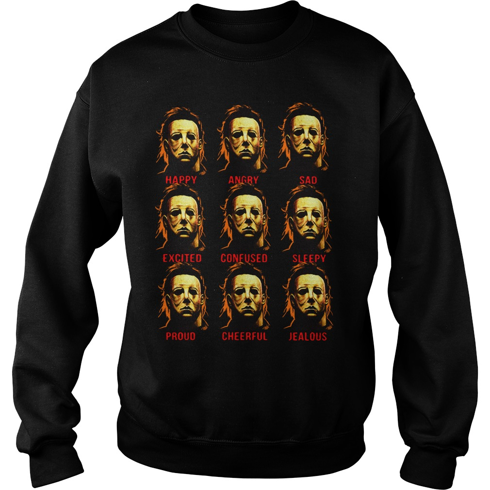 The many faces of Michael Myers Sweater