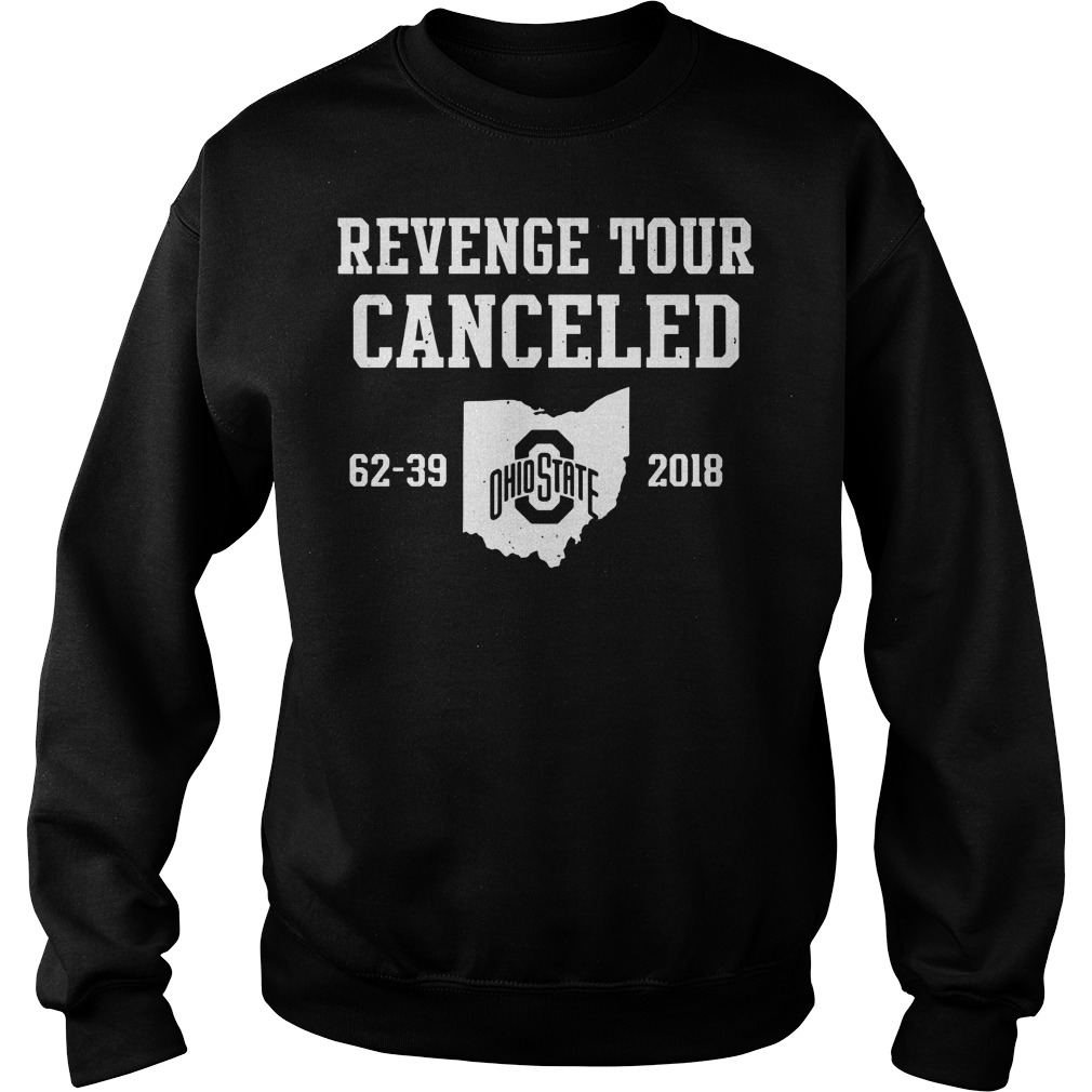 Ohio State Revenge Tour Canceled 62-39 2018 Sweater