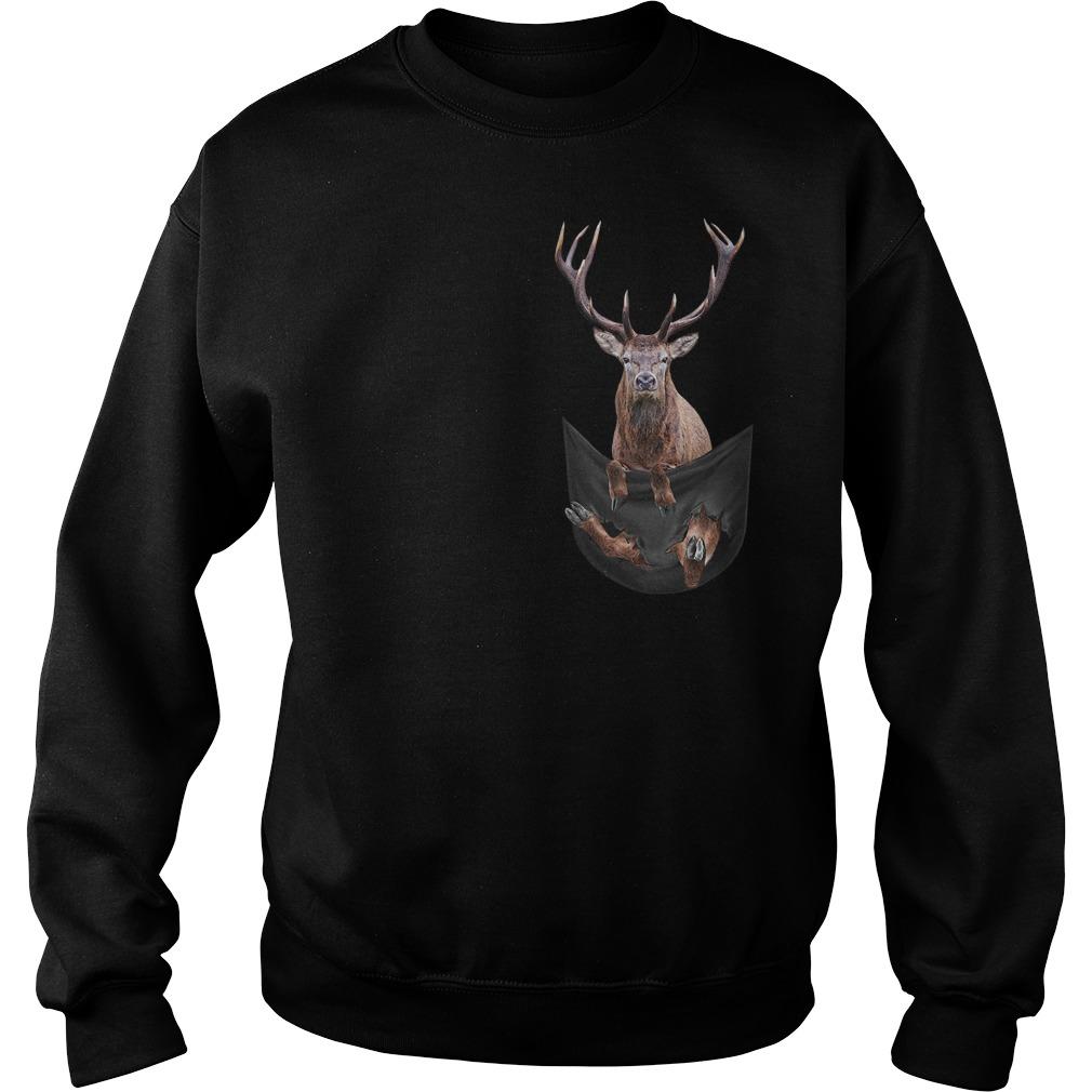Reindeer in pocket Sweater