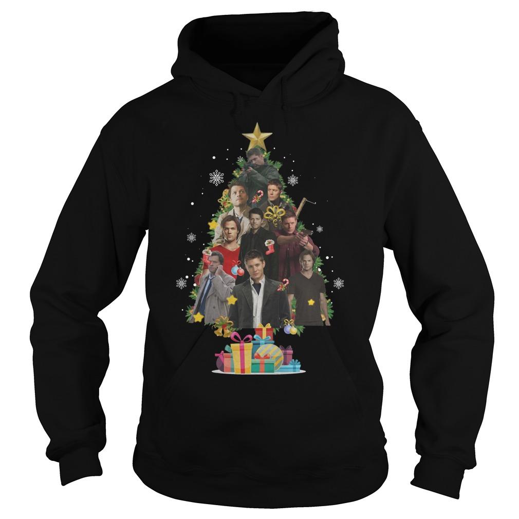 Supernatural Christmas Tree Hoodie