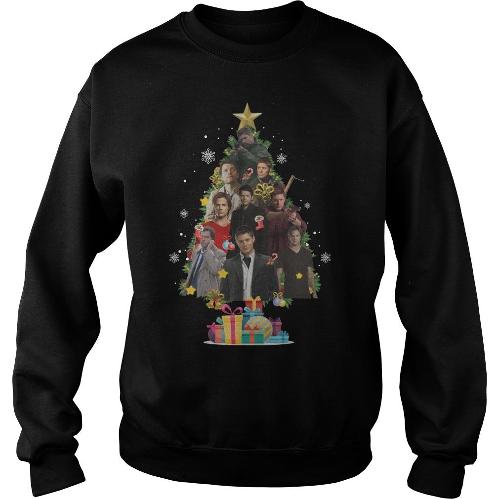 Supernatural Christmas Tree Sweater