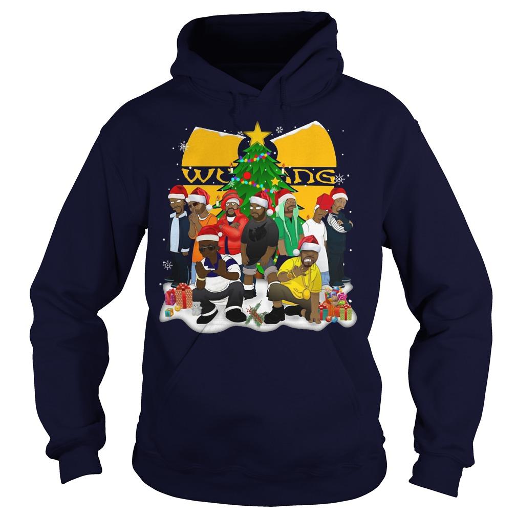 Wu Tang clan christmas Hoodie