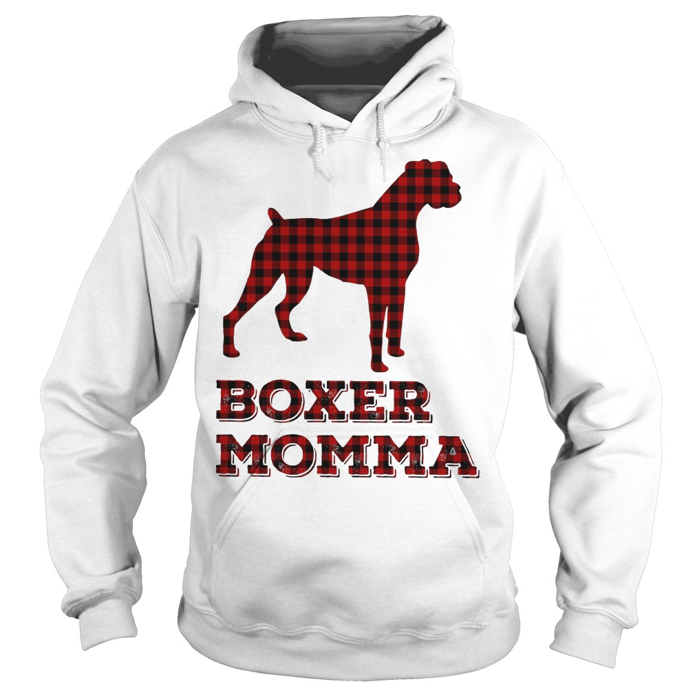 Boxer momma Hoodie