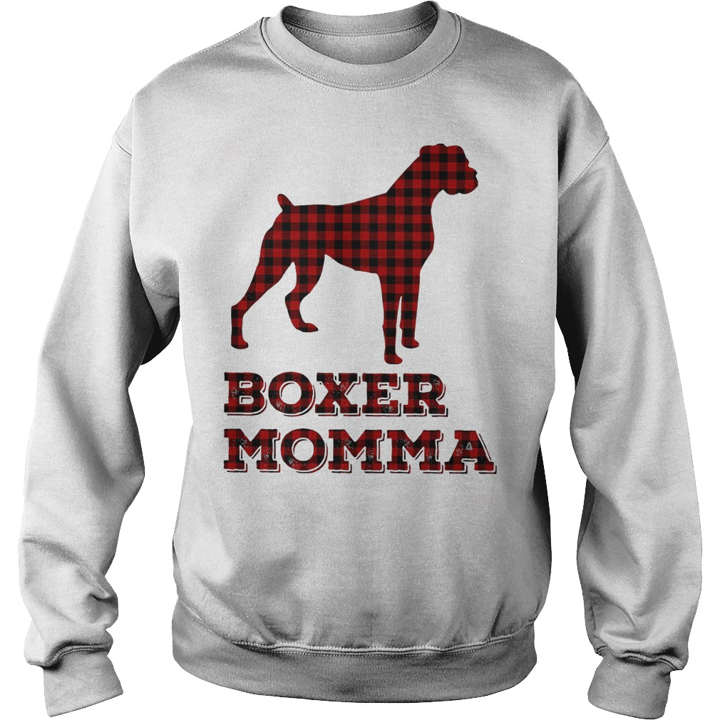 Boxer momma Sweater