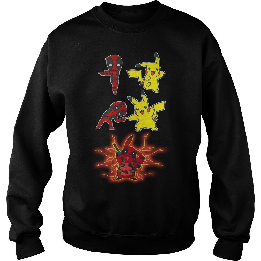 Deadpool And Pikachu Fusion Dance Sweater