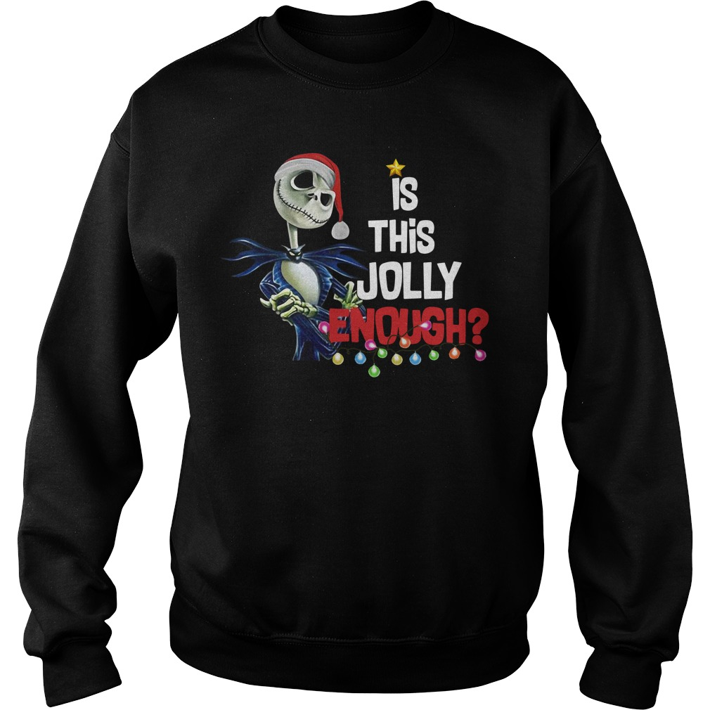 Jack Skellington is this jolly enough Sweater