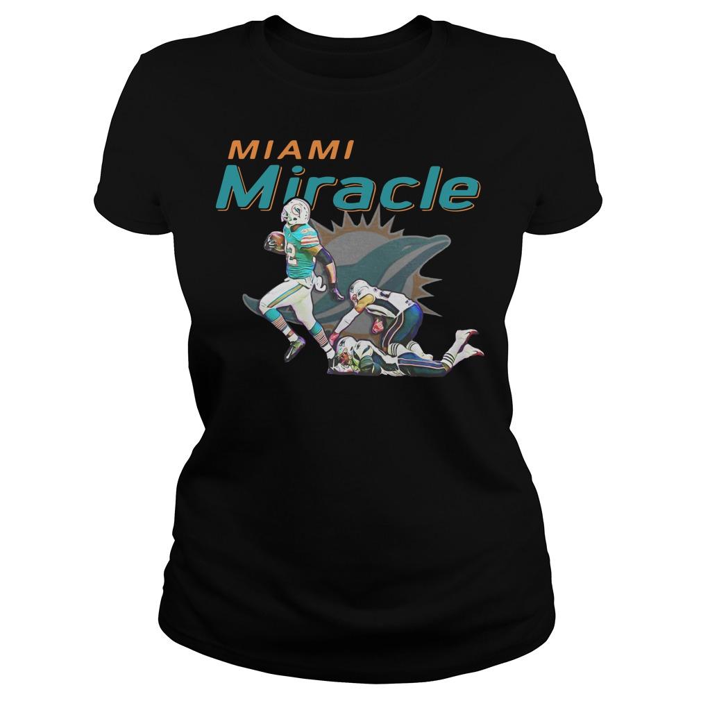 Miami Miracle Miami Dolphins Ladies t-shirt