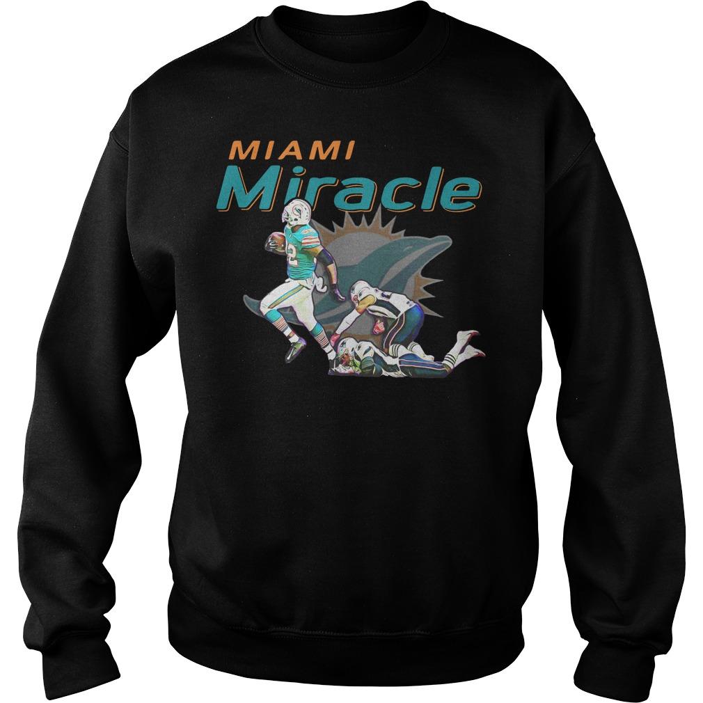 Miami Miracle Miami Dolphins Sweater