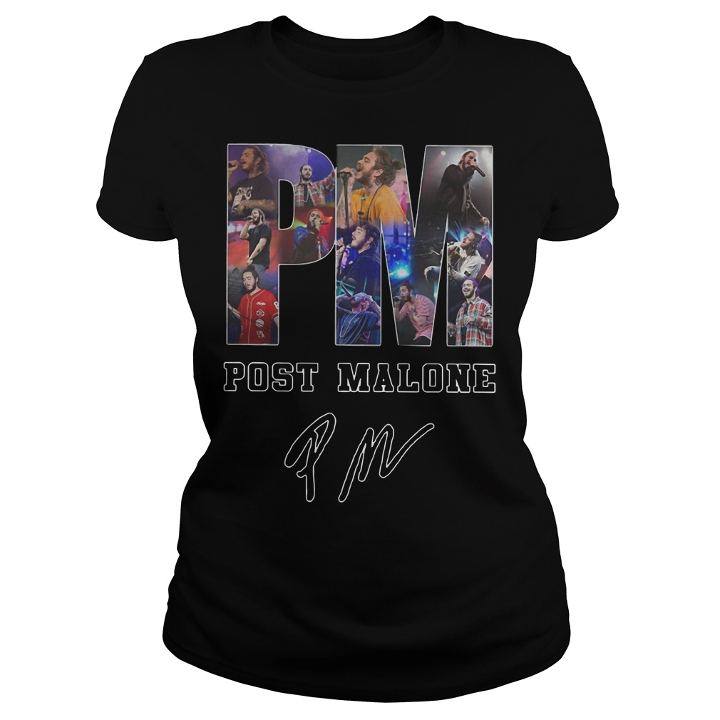 Post Malone Signed Autographed Ladies t-shirt