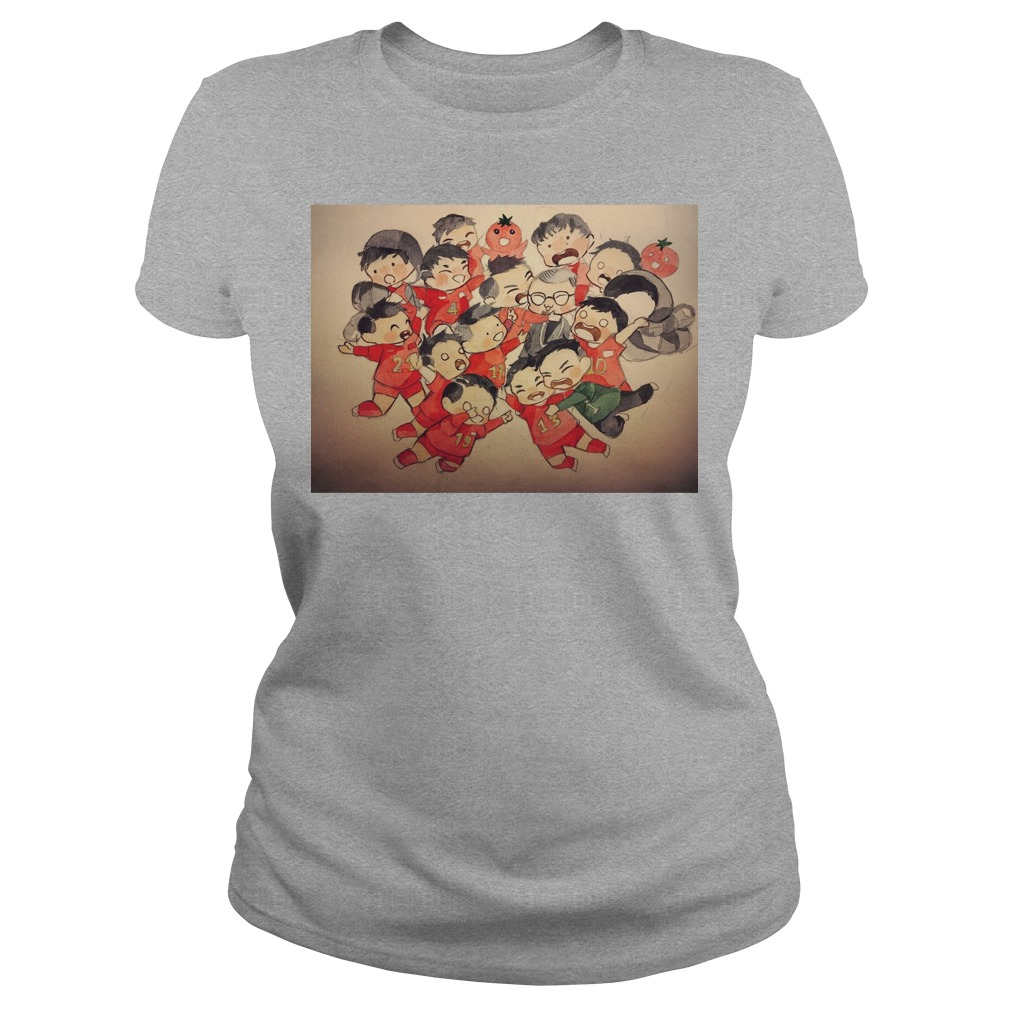 U23 Viet Nam Ladies t-shirt