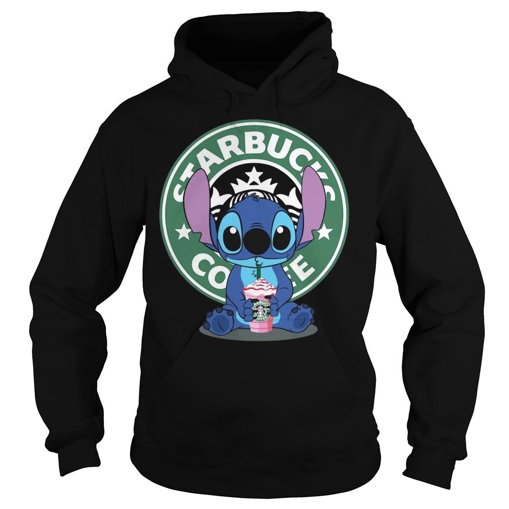 Stitch Starbucks coffee Hoodie