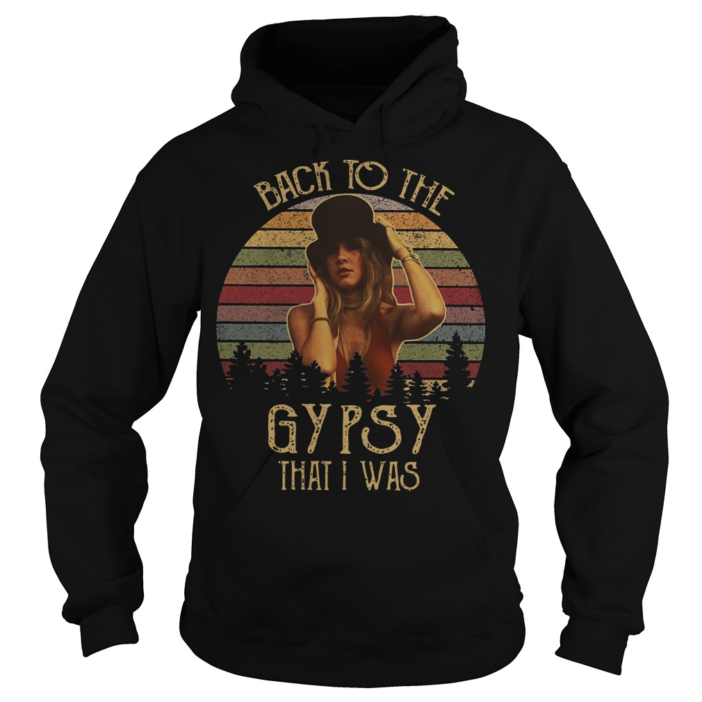 Vintage Stevie Nicks back to the gypsy that I was Hoodie