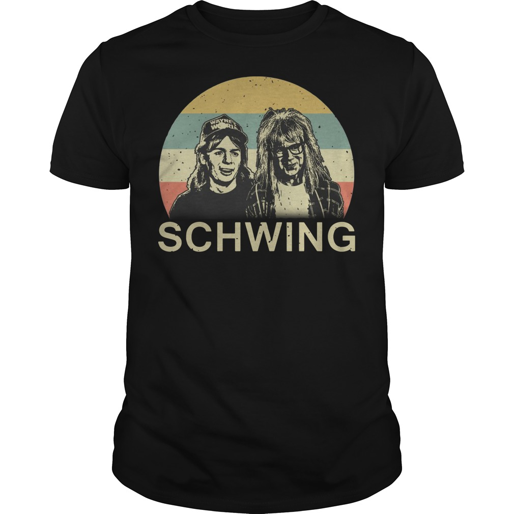 Wayne's World Schwing vintage Guys t-shirt