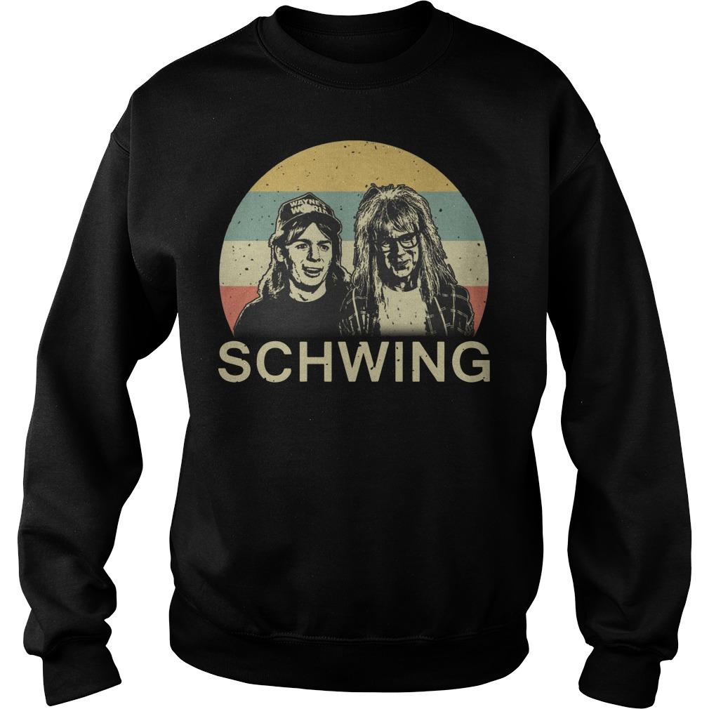 Wayne's World Schwing vintage Sweater