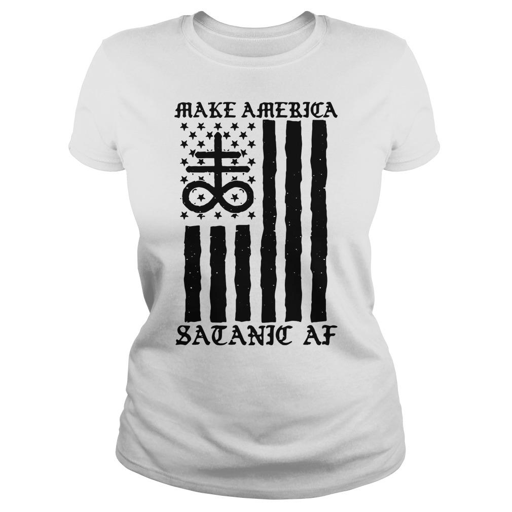 Make america scenic af Ladies t-shirt