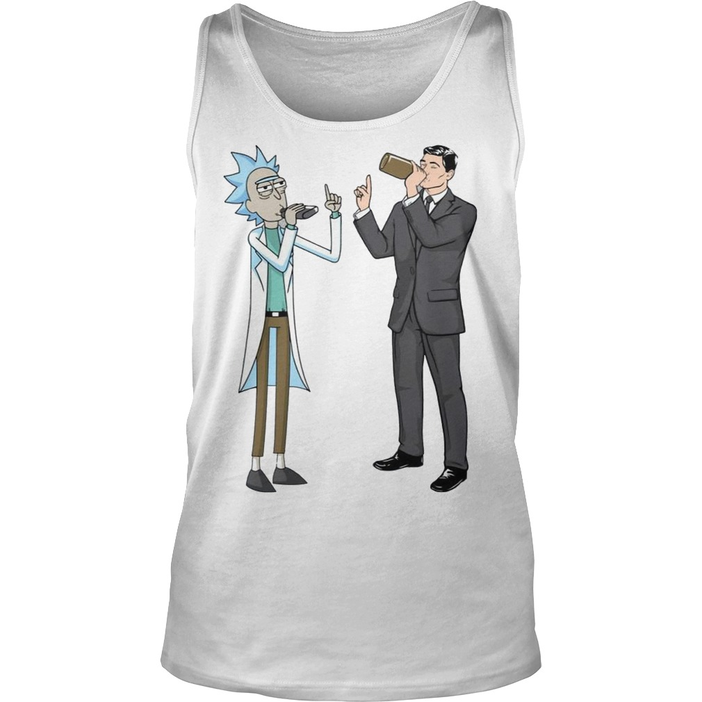 Rick and Archer Drinking Buddies Tank top