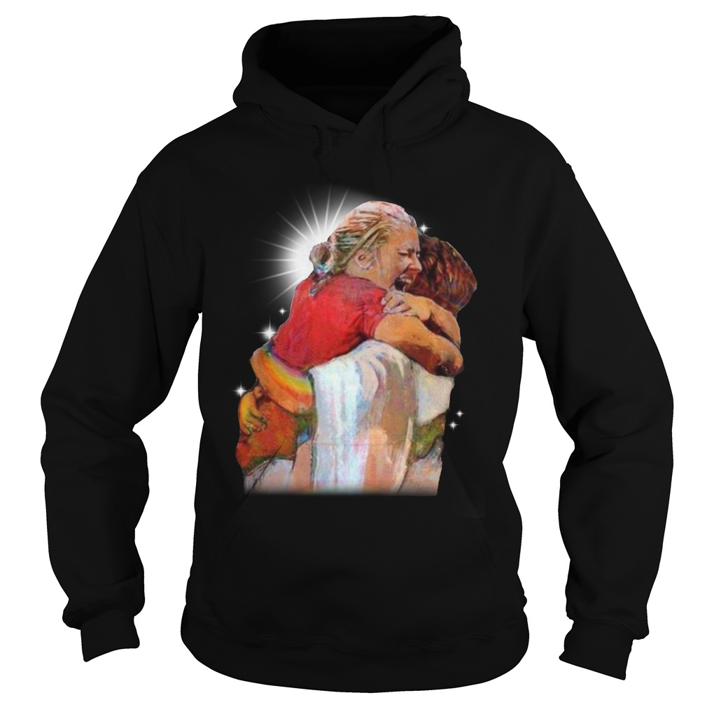 Christian First Day In Heaven Hoodie