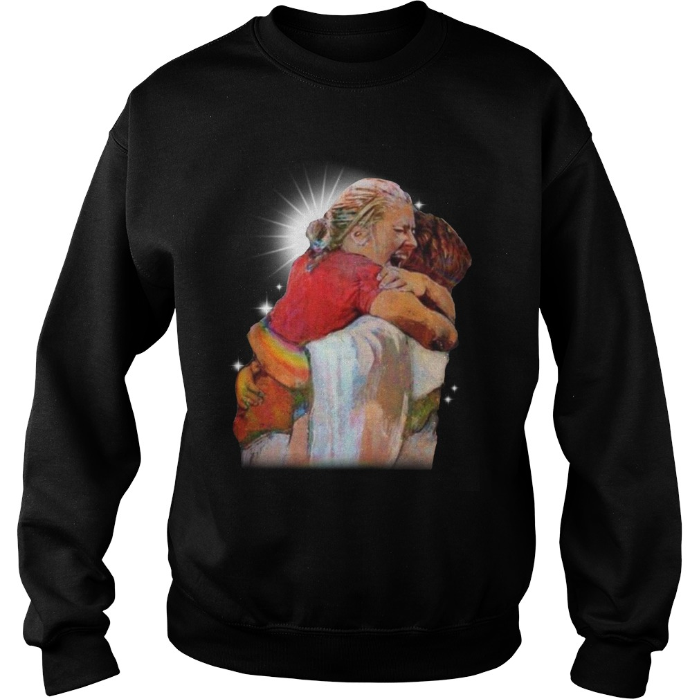 Christian First Day In Heaven Sweater
