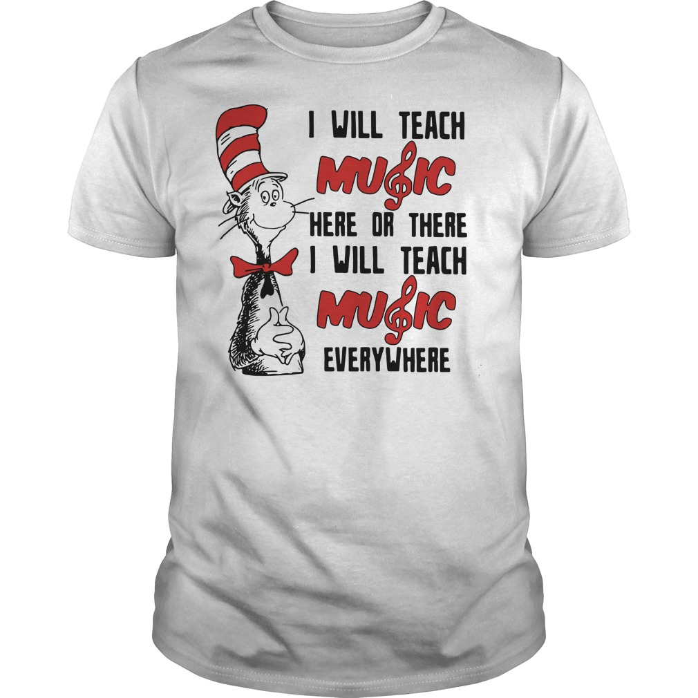 Dr Seuss I will teach music here or there I will teach music everywhere  Guys t a5d50db90