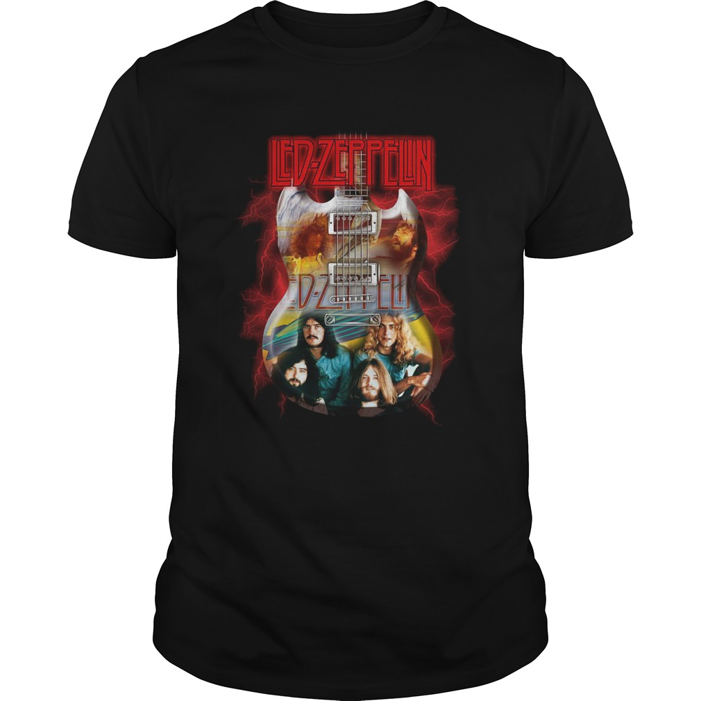 Led Zeppelin guitar Guys t-shirt