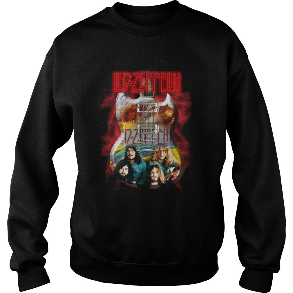 Led Zeppelin guitar Sweater