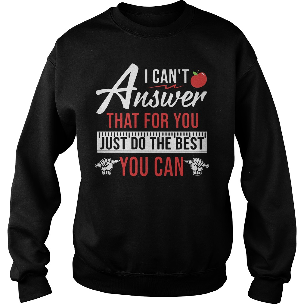 Teaching aids I can't answer that for you just do the best you can Sweater