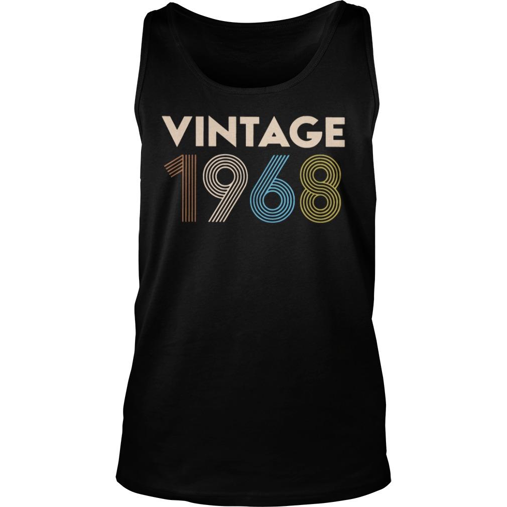 Vintage 1968 Tank top